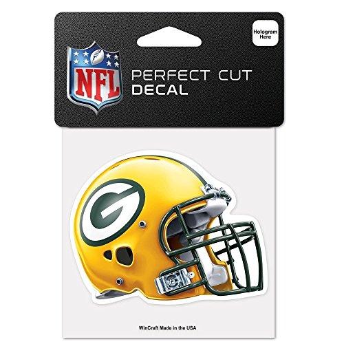 Originaler NFL Green Bay Packers Aufkleber in 10x10 cm (Packers-aufkleber Bay Green)
