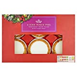 Morrisons Iced Topped Mince Pies, 6 pies