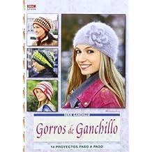GORROS DE GANCHILLO  14 PROYECTOS PASO A PASO (Serie Ganchillo (drac)) 55923863a27
