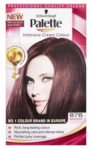 Schwarzkopf Palette Intensive Cream Permanent Hair Colour 878 Mahogany
