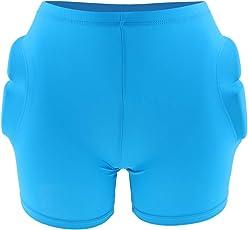 B Baosity Erwachsene Ski Protektoren Kurze Hose Schutzausrüstung Skater Padded Shorts Fahrradhose Unterwäsche