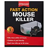 Rentokil Fast Action Mouse Killer 2 Pre-Baited Boxes - Best Reviews Guide
