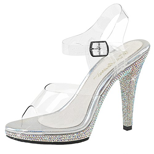Heels-Perfect Sandali Donna Transparent (transparent)