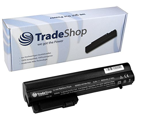 Hochleistungs Li-Ion Laptop Notebook Akku 6600mAh ersetzt Hewlett Packard HP HSTNN-FB-21 RW-556-AA HSTNN-XB-21 für HP Compaq Business Notebook 2400 2510p nc2400 2533t EliteBook 2530p 2540p EliteBook