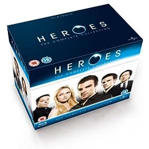 Heroes - Season 1-4 Complete (2012 Repackage) [Blu-ray] [2006] [Region Free]