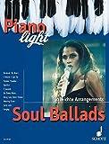 Soul Ballads: 10 leichte Arrangements. Klavier. (Piano light)