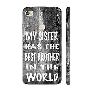 Enthopia Designer Hardshell Case Raksha Bandhan Brother Sister 3 Back Cover for Xiaomi Mi Max