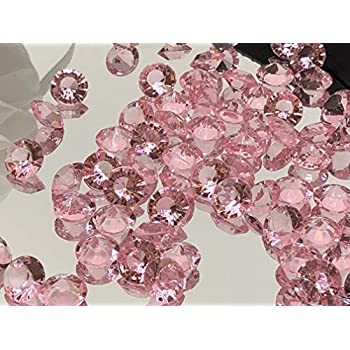 versandhop Lot de 2000 Strass Transparents dor/és en Cristal Transparent /Ø 1 cm 10 mm en Plastique Acrylique Transparent Strass pour Mariage d/écoration de Table
