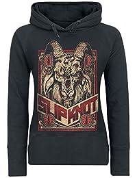Slipknot - FURIOUS Chèvre - Officiel Sweat à capuche femme