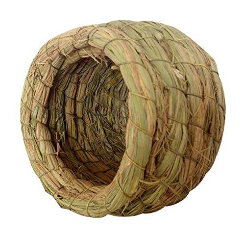 Nid d'oiseau extérieur Tréangé Birdcage Grass Nest Bird Breeding Box-Large Size
