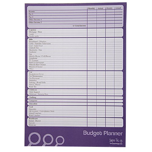 a4-budget-finance-money-planner-large-50-sheets-per-pad-plan-weekly-or-monthly-double-sided-size-297