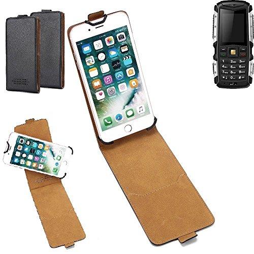 K-S-Trade Hülle für Jiayu F2 Tasche Handyhülle Schutzhülle Handytasche Case Schutz-Hülle 360° Smartphone Flip Style Case Flipcase Kameraschutz aus Kunstleder