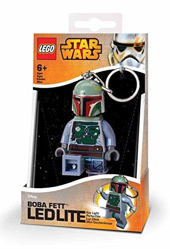 Lego 90024 Minitaschenlampe Star Wars, Boba Fett, 7,6 cm