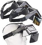 auvisio Video-Headset: 2er-Set Augmented-Reality- und Video-Brillen für Smartphones, 69° (FPV-Brille)