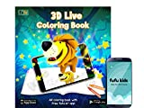 Best Coloring Books For Kids - Fufu 3D Live Coloring - Augmented Reality Coloring Review