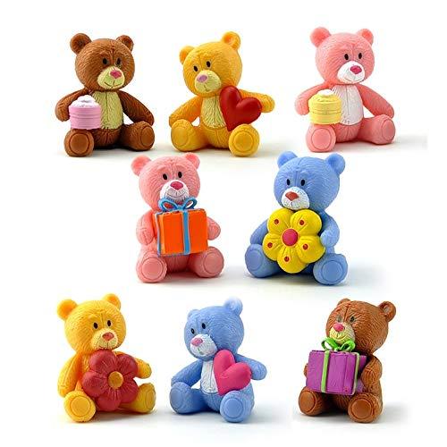ege Bären Teddybär Action-Figuren Spielzeug Kawaii Teddybär Vinyl Puppe Geschenk für Kinder ()