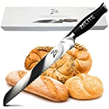 "Zelite Infinity Bread Knife Extra Length - Comfort-Pro Series - High Carbon Stainless Steel Knives X50 Cr MOV 15 >> 10"" (254mm)"