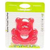 Baybee Teddy Bear Teething Toys for Best Baby Teether Massage. Molar Teeth Soother with Soft Sensory BPA Free Natural Silicone Teethers Toy for Babies | Make Your Happy Infant Smile Easy