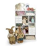 Cómoda - aparador para habitación infantil. Tamaño 64 x 94 x 21 cm. - EUROPEAN SHABBY-CHIC - amazon.es