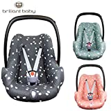 BriljantBaby Baby Fit SPOTS Housse de protection universelle 100% jersey interlock...