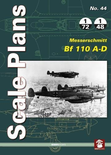 Scale Plans 44: Messerschmitt Bf 110 A-D