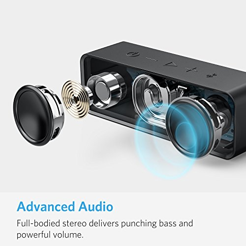 Anker-SoundCore-Portable-Bluetooth-40-Stereo-Speaker-with-24-Hour-Playtime-6W-Dual-Driver-Low-Harmonic-Distortion-Patented-Bass-Port-and-Built-in-Microphone-for-Calls-for-iPhone-iPod-iPad-Samsung-LG-a