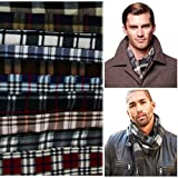 #10: Jubination Fleece Printed Gents Muffler/ Scarf (Any 1 out of 10) (Mix colors/assorted)