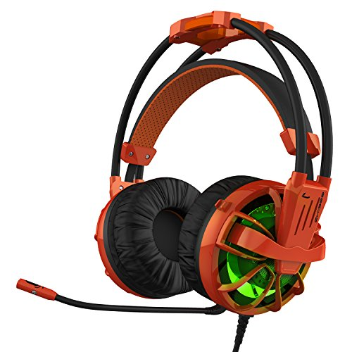 HAVIT HV-ZH1300 Magnetic Power Computer Gaming Headset, Orange