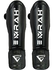 Emrah - Protège-tibias - Équipement de protection de boxe, entraînement et kickboxing- Taille X