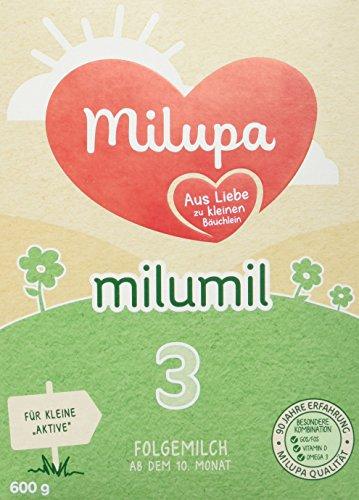 Milupa Folgemilch MILUMIL 3 im Test