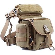 reebow Gear exterior EDC Pierna bolso Riñonera 1000d Cordura con extraíble cierre rápido, Sand Farbe
