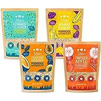 3Bears Porridge ● Alle Sorten 4er-Paket (4 x 400g) ● Viel Frucht ● Ohne Zuckerzusatz ● Overnight Oats ●