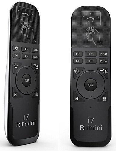 Rii Mini i72.4G Mini Tastatur kabellos des Maus der Luft kombinierten Remote Built-in 6Achsen für TV BOX Mini/Laptop weiß