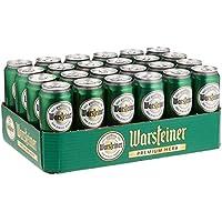 Warsteiner Herb Pils Dosenbier, kraftvolles Bier nach deutschem Reinheitsgebot, EINWEG (24 x 0,5 Liter)