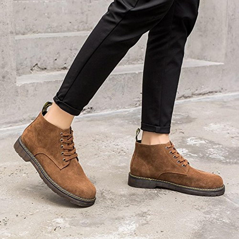 HL-PYL-Cashmere versione coreana di Martin stivali per aiutare le scarpe di cuoio stivaletti stivali retrò,38,... | Vogue  | Uomo/Donne Scarpa