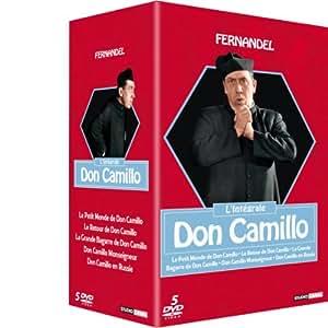 Coffret Don Camillo, l'Intégrale - Coffret 5 DVD (Le petit monde de Don Camillo - le retour de Don Camillo - la grande bagarre de Don Camillo - Don Camillo Monseigneur - Don Camillo en Russie)