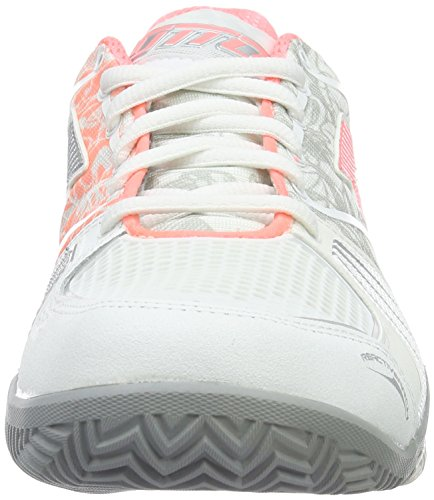 Lotto Stratosphere Cly W, Chaussures de Tennis Femme Blanc (Wht/Ros Neo)