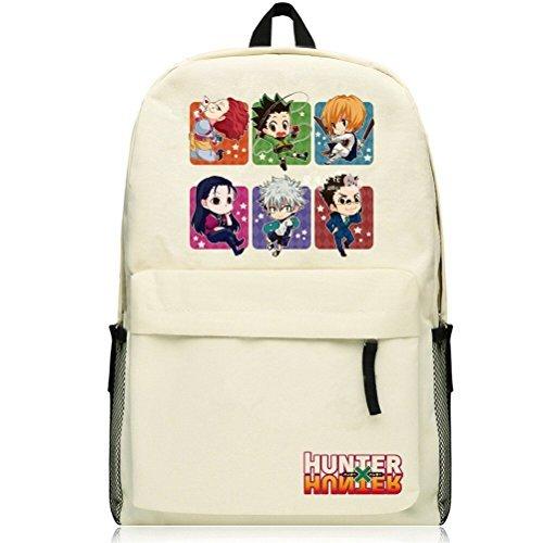 (yoyoshome Anime Hunter X Hunter Cosplay Schultasche Messenger Bag Rucksack Schule Tasche beige Hunter27)