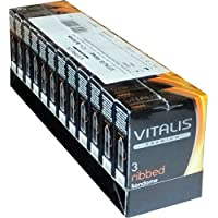 Vitalis Premium SPARPACK Ribbed 12x3 Kondome mit Rippen preisvergleich bei billige-tabletten.eu