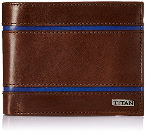 Titan Brown Men's Wallet (TW160L)  available at amazon for Rs.1209