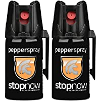 stopnow Pfefferspray Abwehrspray KO-Spray Selbstverteidigung Jet-Sprühstrahl