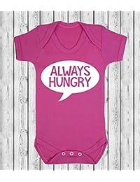 Siempre hambre bebé chaleco ropa de bebé, diseño de Babygrow Body de bebé ...