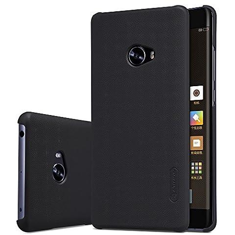 Nillkin Frosted Shield - Housse coque rigide de protection et anti -dérapant + film d'écran pour Xiaomi Mi Note 2 - Noir