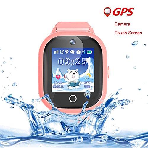 Reloj inteligente para niños y niñas, resistente al agua, anti pérdida, rastreador...