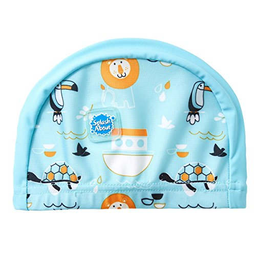 Splash About Kids Swimming Hat, Cappello Bambino, Noah's Ark, 0-18 Mesi