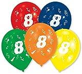 Party Discount Palloncini con Singolo Numeri 810PZ Assortiti