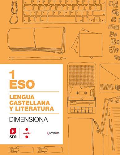 Cuaderno Lengua castellana y literatura 1 ESO Dimensiona Construïm