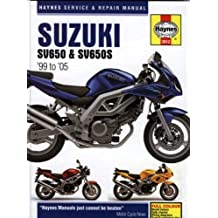 Suzuki SV650 & SV650S 1999 to 2005 (Haynes Service & Repair Manual) by Matthew Coombs (2006-04-01)