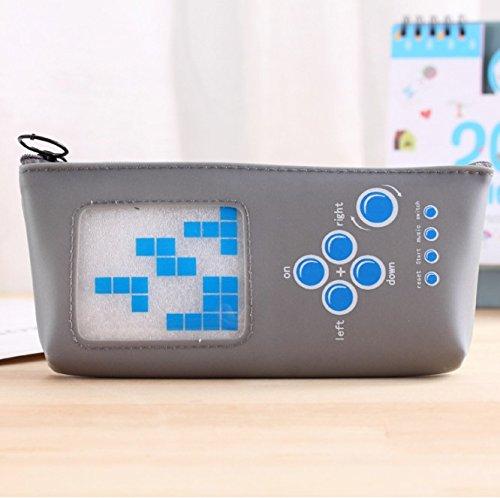 Nützliche Briefpapier Aufbewahrungsbox 3Pcs kreative Hand-Gaming-Gerät Form Stift Federmäppchen...