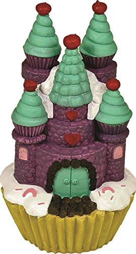 ucts Exotic Umgebungen Cupcake Castle Aquarium Ornament Lila, klein (Cupcake Castle)